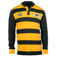 Green Bay Packers Official NFL Cotton Rugby Hoody