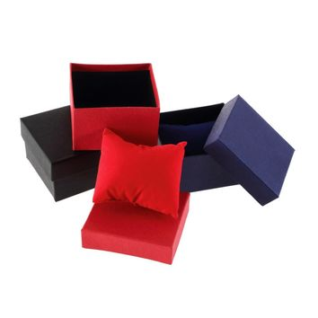 OUTAD 1pc Bracelet Jewelry Watch Box Case display watch holder With Foam Pad Inside Present Gift For Bangle watch boxes