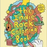 Indie Rock Coloring Book (Books)