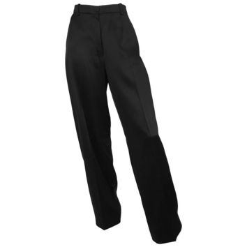 Yves Saint Laurent by Tom Ford 2001 Black Silk Pants Size 8 / 40.