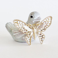 SARAH COVENTRY Madame Butterfly Brooch Pin