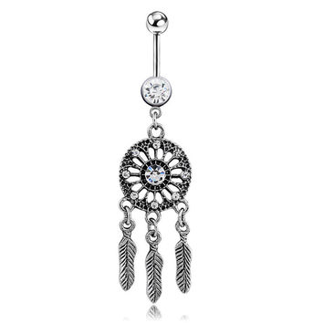 Vintage Accessory Belly Ring [6768796039]