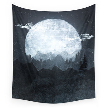 Society6 Moonrise Wall Tapestry