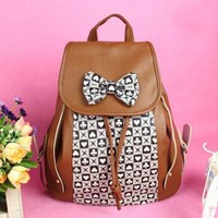 Cool Bowknot Backpack Bag