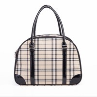 2016 New Pet Carrier for Small Dogs Travel Luxury PU Leather Carrier
