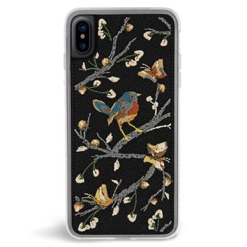 Sparrow Embroidered iPhone X Case