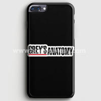 Grey'S Anatomy iPhone 7 Plus Case | casefantasy