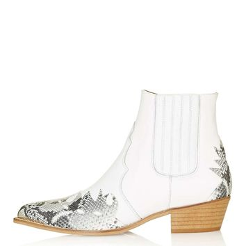 ARSON Western Ankle Boots - Topshop