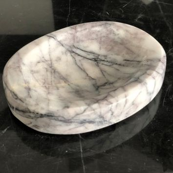Marble Soap Dish, Handmade Home Decor, Personalized Bathroom Decor, Custom Gift, Gift for Her, Gift for Women, Housewarming Gift