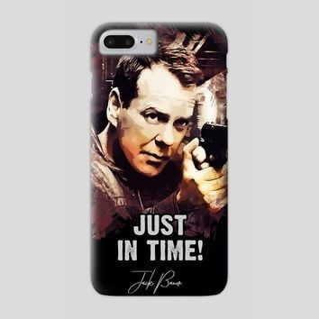 Jack Bauer - Just in Time, a phone case by Dusan Naumovski