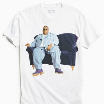 Biggie Couch Photo Tee | Urban Outfitters