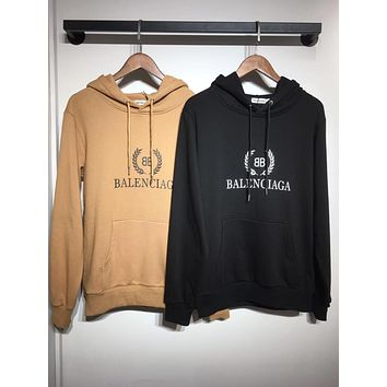 BALENCIAGA Fashion Women Men Casual Print Hoodie Cute Sweater Sweatshirt