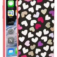 Women's kate spade new york 'dancing hearts' iPhone 6 case - Black
