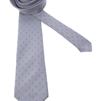 Pierre Cardin Vintage rectangle print tie