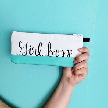 Girlboss Pencil Case