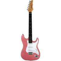 "Pink 39"" Electric Guitar"