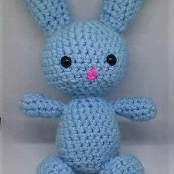 Crochet Bunny, Crochet Rabbit, Amigurumi Bunny, Crochet Toy, Stuffed Animal, Handmade Plush, Rabbit Toy, Easter Bunny, Easter Gift