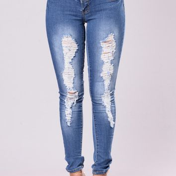 Bubble Butt Jeans - Medium