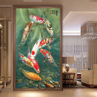 Beautiful Coy Fish Picture 5D diamond painting
