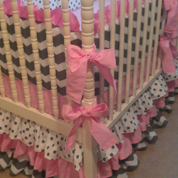 SPRING SALE~Custom Made to Order Crib Nursery Bedding Set