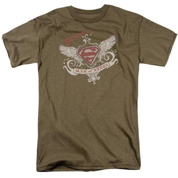 ac NOOW2 Superman - Victorian Wings Supes Short Sleeve Adult 18/1