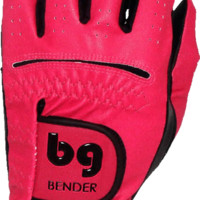 GOLF GLOVE ● Pink (Dark) Synthetic - Cabretta Leather