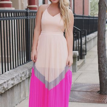 Leaving Town Maxi Dress