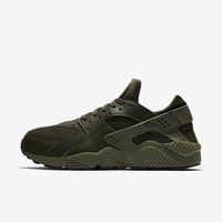 Nike Air Huarache Run Cargo Khaki Olive Green Black 318429 308 Size 8-13