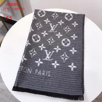 louis vuitton scarf air-conditioning large shawl