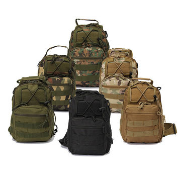 """MissionCritical """"The Sentry"""" Military Tactical Sling Pack Multiple Colors"""