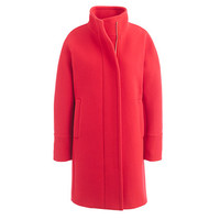 J.Crew Womens Stadium-Cloth Cocoon Coat