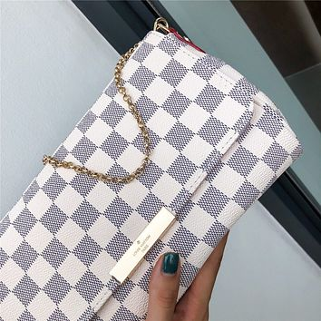 Louis Vuitton LV Damier Azur Favorite PM