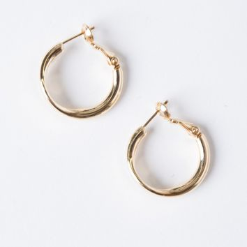 Curved Edge Mini Hoops