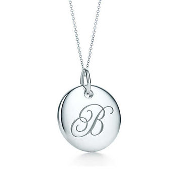 Tiffany and co letter necklace jewelry flatheadlake3on3 tiffany initial necklaces best necklace 2018 aloadofball Gallery