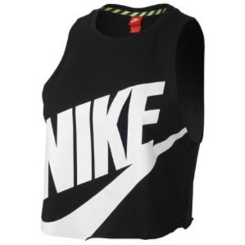 Nike NTF Crop Sleeveless Top - Women's at Lady Foot Locker