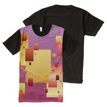 Blockage All-Over Print T-shirt