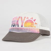 Roxy So Local Ii Womens Trucker Hat White/Black One Size For Women 22851716801