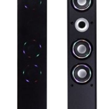 CRAIG CHT954 Tower Speaker System with Color Changing Lighted Speakers and Bluetooth Wireless Technology