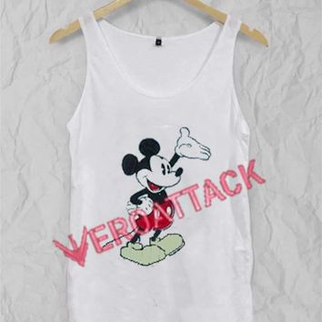 Mickey Mouse New Adult Tank Top Men And Women