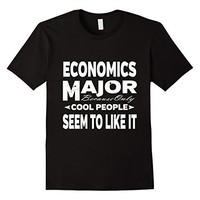 Economics Majors College Student Cool People T-shirt