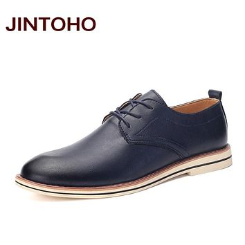 Men's Italian Leather Shoes With Pointed Toes Wedding Formal Shoes
