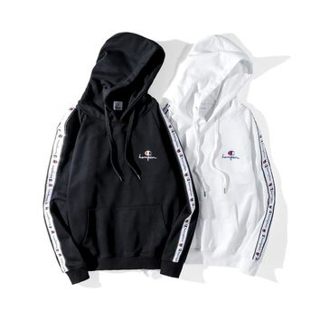 Champion Long Sleeve Hooded Sweater