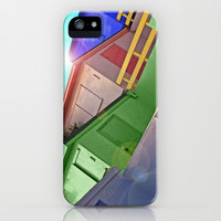 BEACH HUTS iPhone & iPod Case by catspaws