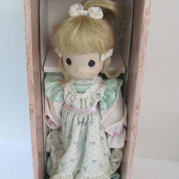 "Precious Moments Doll Four Seascons Limited Edition ""Spring: The Voice of Spring"