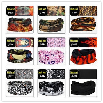 Assorted Seamless Outdoor Sport Bandanna Headwrap Scarf Wrap Bandana, Neck Gaiter cycling [8833667468]