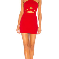 by the way. Kimber Cut Out Bodycon in Red   REVOLVE