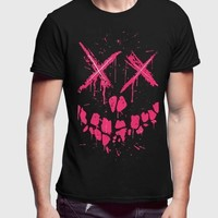 Pink Death Half Sleeves T-shirt