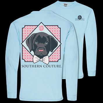 Southern Couture Preppy Lab Comfort Colors Long Sleeve T-Shirt