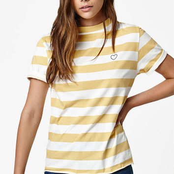 LA Hearts Heart Striped T-Shirt at PacSun.com