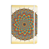 "Famenxt ""Floral Mandala"" Multicolor Geometric Everything Notebook"